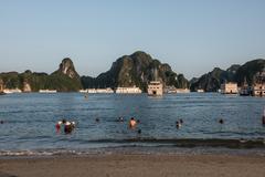 Island in Ha Long Bay Kuvituskuvat