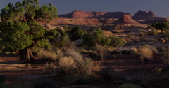 An exquisite morning in the Glenn Canyon National Recreation, Utah. Stock Footage