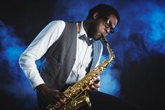 Saxophone player Kuvituskuvat