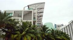 Miami Beach condominium scene Stock Footage
