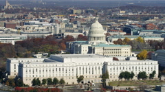 Congressional office building in front of the Capitol, Washington DC. Shot in Stock Footage