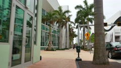 Publix Supermarket Miami Beach Stock Footage