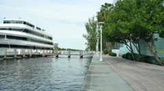 The Grand Floridian yacht Stock Footage