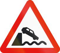Road sign used in Spain - Dock Stock Illustration