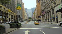 Driving Into New York City Tunnel - stock footage