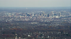 Approaching Baltimore, Maryland. Shot in November 2011. Stock Footage