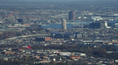 M&T Bank Stadium in Baltimore, Maryland. Shot in November 2011. - stock footage