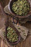 Peppercorns (green) Stock Photos