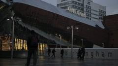 Grand Central Birmingham, UK Stock Footage