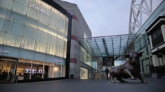 Bullring Birmingham, UK Stock Footage