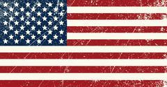 USA flag vintage Piirros