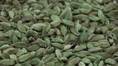 Cardamon Seeds (seamless loopable 4K footage) Stock Footage