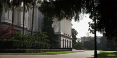 Grounds of the California State Capitol, Sacramento Stock Footage