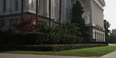 Tilt-up on the California State Capitol Building, California Stock Footage