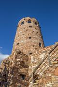Watch tower at the Grand Canyon Stock Photos