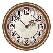 Ancient clock vector Piirros