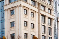 Stock Photo of multi-storey building in a classic architecture style