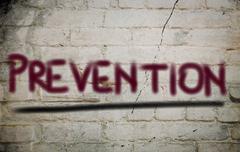 Prevention Concept - stock illustration