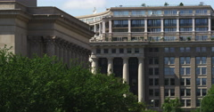 National Archives in Washington DC. Shot in May 2012. - stock footage