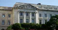 US Department of Agriculture building. Shot in May 2012. Stock Footage