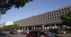 US Department of Energy Forrestal Building on L'Enfant Plaza in Washington DC. Stock Footage