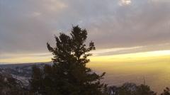 Sandia Peak Go Pro Timelapse 2D Stock Footage