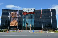 Gallagher Group world headquarter in Hamilton New Zealand - stock photo