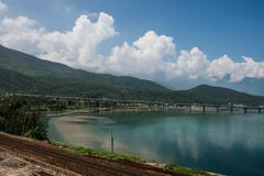 Lang Co Mountain View - stock photo