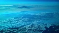 Flying over the desert towards Abu Dhabi Arkistovideo