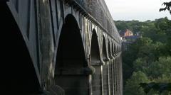 Pontcysyllte Aqueduct Stock Footage
