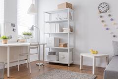 Stock Photo of White minimalist design