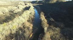 Verde River Verde Valley Arizona Winter Stock Footage