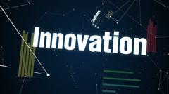 Challenge, Innovation, Creative, Adventure, Improvement, Text 'Success Project' - stock footage