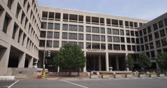 US Department of Labor Building, Washington DC. Shot in 2012. - stock footage