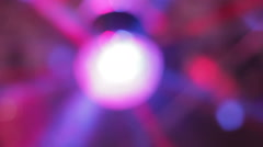 Lamp  light  blinking disco night background Stock Footage