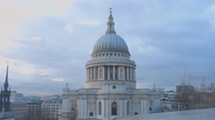 London St. Paul's cathedral Stock Footage