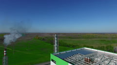 Thermal power station - stock footage
