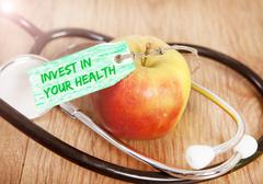 Invest in your health Stock Photos