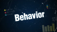 Behavior, Personality, Employee, Action, Work, Text animation  'MOTIVATION' - stock footage