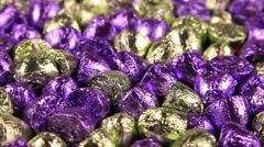 Bon-bon sweets rotating close-up Stock Footage