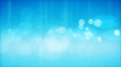 Abstract blue  particles background - stock footage