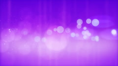 Abstract glowing circles on a purple background. - stock footage