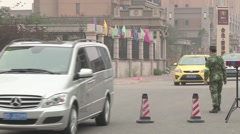 Tianjin explosion impact.  Stock Footage