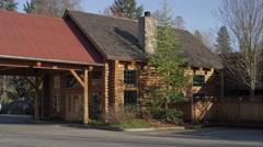 Lodge near Grants Pass, Oregon Stock Footage