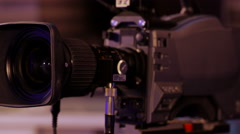 Rotating Parts of a Professional Television Lens - stock footage