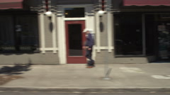 Right Side view of a Driving Plate: Car traveling on SE Morrison Street in Arkistovideo
