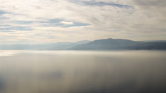 Nafplio landscape in Greece. View from Palamidi castle on top of a mountain. Stock Footage