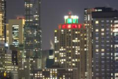Blurry skyscrapers background Stock Photos