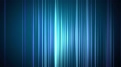 Vertical blue line background Stock Footage