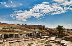 Ruins in Pamukkale - 4 Stock Photos